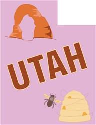 Utah print art