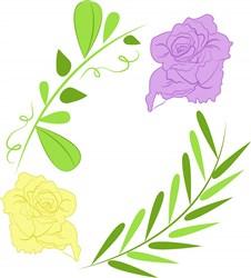 Wedding Florals print art