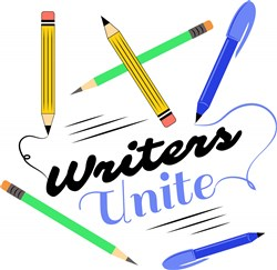 Writing Writers Unite print art