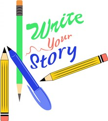 Write Your Story print art