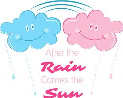 After The Rain Comes The Sun print art