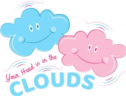 Your Head Is In The Clouds print art