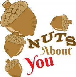 Acorn Nuts About You print art