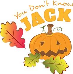 Fall Pumpkin You Don t Know Jack print art