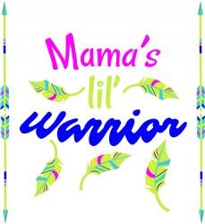 Mama s Lil Warrior print art