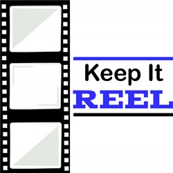 Film Strip Keep It Reel print art