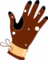 Glove print art
