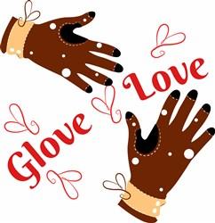 Glove Love print art