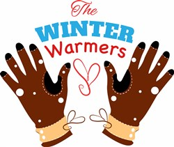 Glove The Winter Warmers print art