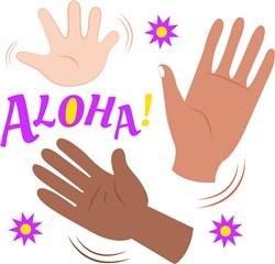 Good Bye Aloha print art