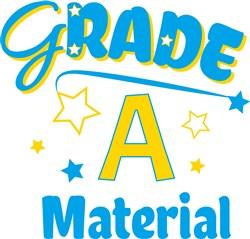 Grade A Material print art