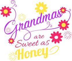 Grandmas Are Sweet As Sugar print art