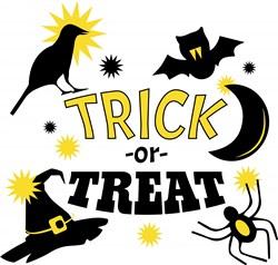 Halloween Trick Or Treat print art