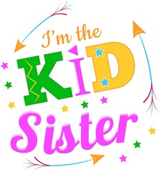 I m The Kid Sister print art