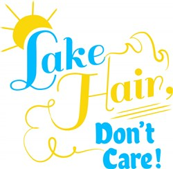Lake Hair Dont Care print art