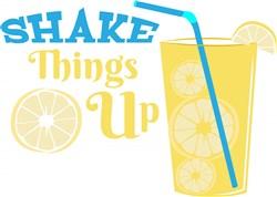 Lemonade Shake Things Up print art