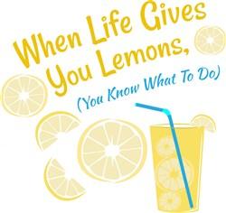 When Life Gives You Lemons print art