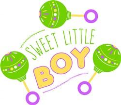 Sweet Little Boy print art