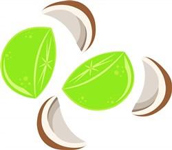 Lime Coconut print art