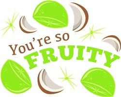 You re So Fruity print art
