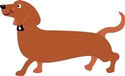 Long Dog print art