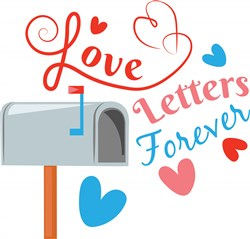 Love Letters Forever print art