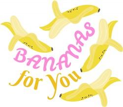 Bananas For You print art