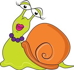 Snail print art