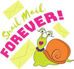 Snail Mail Forever print art