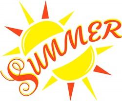 Summer print art