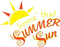 Gimme That Summer Sun print art