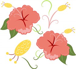 Summer Flower Base print art