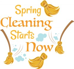 Spring Cleaning Starts Now print art