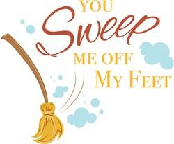 You Sweep Me Off My Feet print art