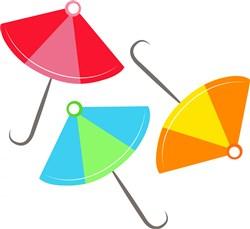 Umbrellas print art