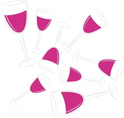Wine print art