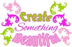 Fleur Create Something Beautiful print art