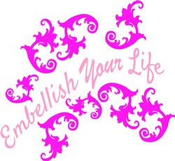 Fleur Embellish Your Life print art