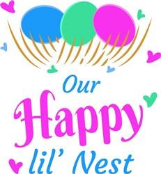 Our Happy Little Nest print art