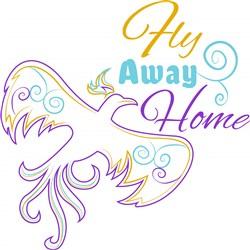 Fly Away Home print art