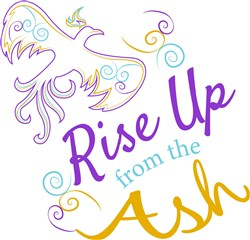 Rise Up From The Ash print art