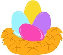 Nest Eggs print art