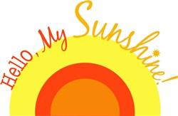 Hello My Sunshine print art