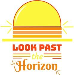Look Past The Horizon print art