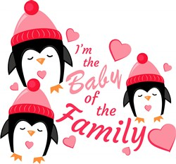 I m The Baby Of The Family print art