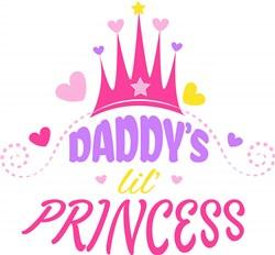Daddy s Lil Princess print art