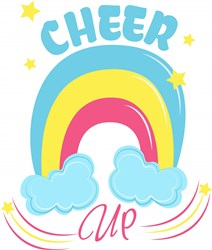 Rainbow Cheer Up print art
