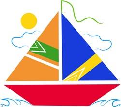 Sailboat print art