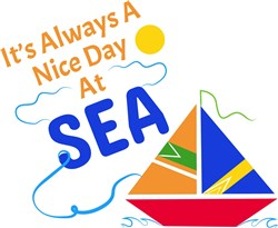 It s Always A Nice Day At Sea print art