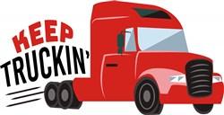 Keep Truckin print art